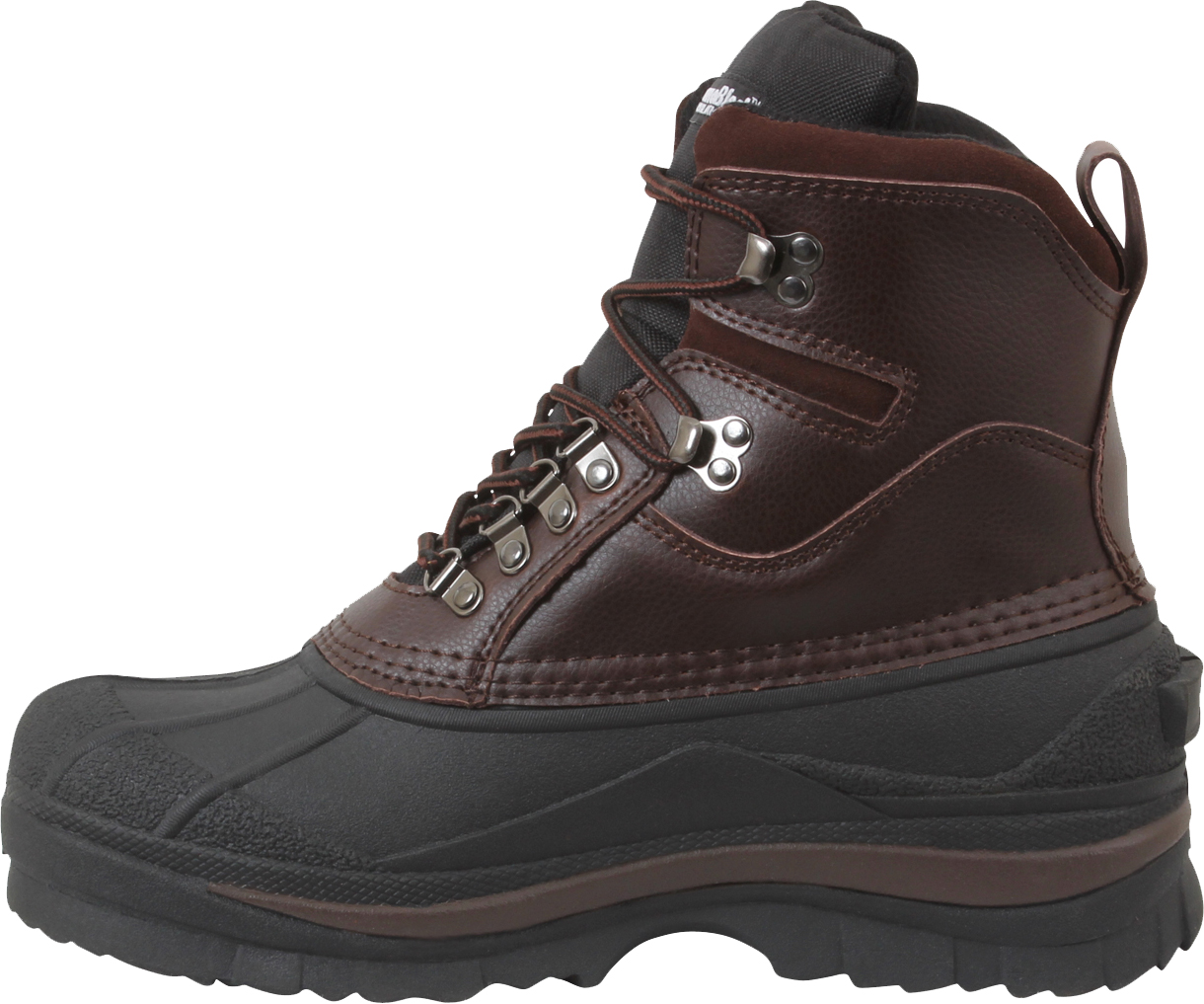 """Brown Thermoblock Cold Weather Waterproof Winter 8"""" Hiking ..."""