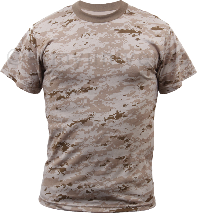 Mens desert digital camouflage tactical military short for Camouflage t shirt design