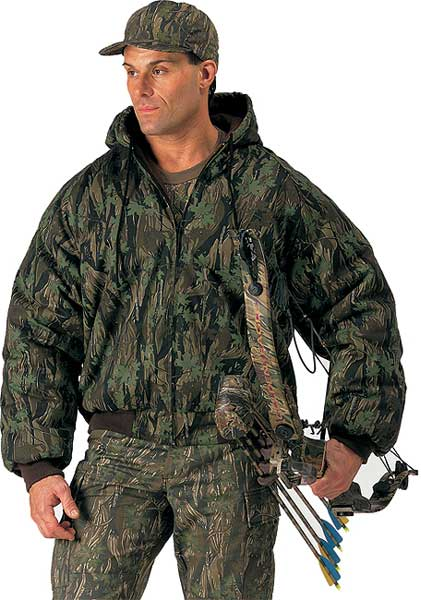 Rothco Smokey Branch Camouflage Heavyweight Insulated Hooded Jacket at Sears.com