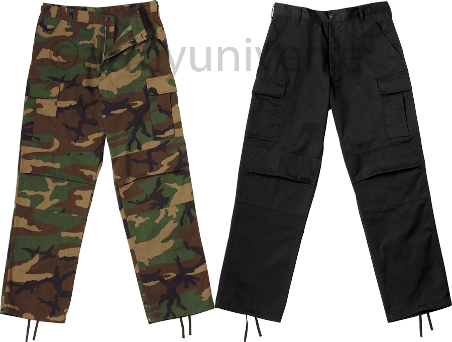 Vintage Military Pants, Army Style Cargo Pants. These vintage military pants modeled after military fatigues with a cool vintage twist. Rugged and stylish, these classic military cargo pants come in a variety of colors and styles.