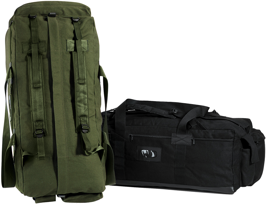 Israeli Military Mossad Tactical Duffle Bag Double Strap Backpack . 7ce90d2f0c0