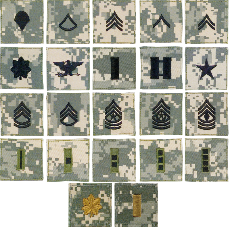 army insignia rank