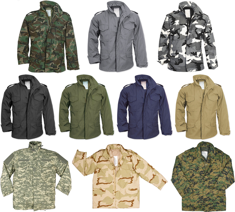 Camouflage-Military-M-65-Field-Coat-Army-M65-Jacket