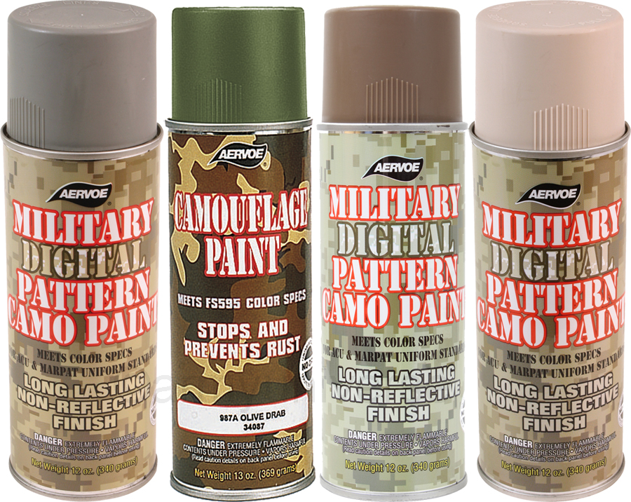 Camouflage 12 Oz Aerosol Can Spray Paint Can Ebay