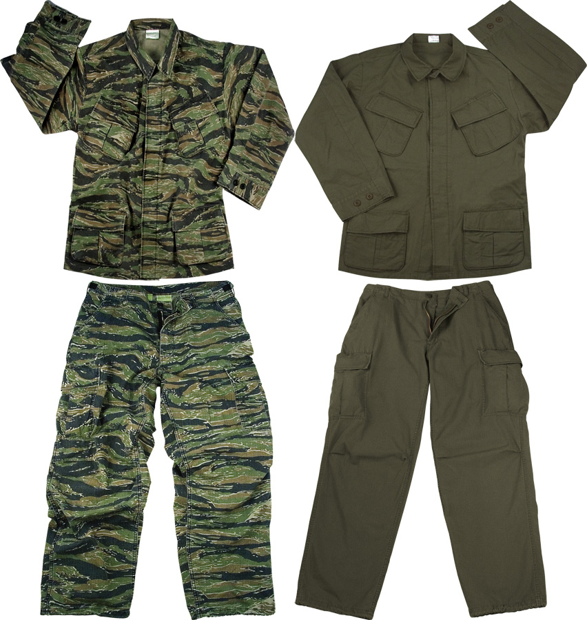 ... about Vintage Military Rip-Stop Vietnam Tactical BDU Fatigue Uniform