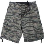 Tiger Stripe Camouflage Vintage Military Infantry Utility Shorts