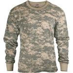 ACU Digital Camouflage Kids Tactical Long Sleeve Military T-Shirt