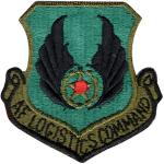 US Air Force AF Logistic Command Subdued Patch