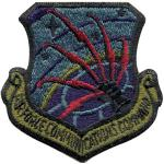 US Air Force Communications Command Subdued Patch