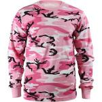 Pink Camouflage Tactical Long Sleeve Military T-Shirt