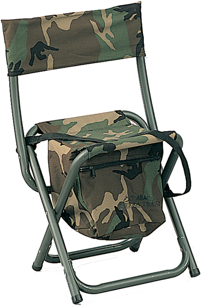 Rothco Woodland Camouflage Military Deluxe Quiet Folding Chair