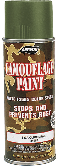 Rothco Olive Drab Camouflage Spray Paint 12oz