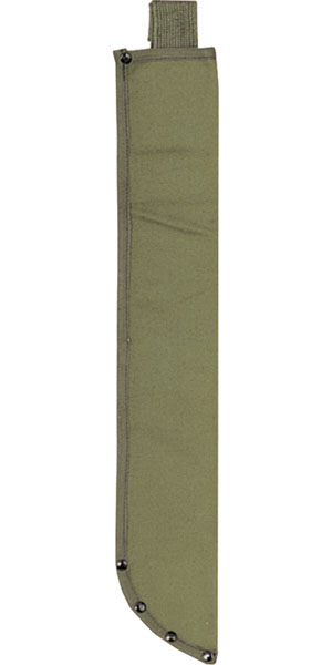 Olive Drab Canvas Machete Sheath 18""