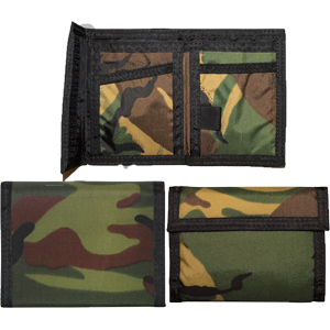 Woodland Camouflage Commando Military Tactical Wallet Military