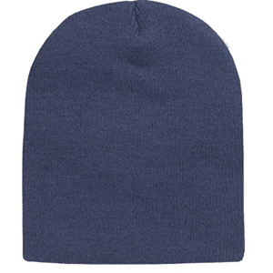 Navy Blue Military Warm Acrylic Beanie Skull Cap