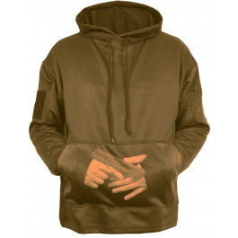 Coyote Brown Concealed Carry Tactical Hooded Sweatshirt 6f3f7f6e68c