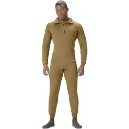 Coyote Brown AR 670-1 ECWCS Fleece Cold Weather Underwear Thermal Pants 49eb7c2b5e8