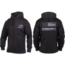 Black Concealed Carry Subdued Thin Blue Line Hoodie Sweatshirt 8484d6e1e92