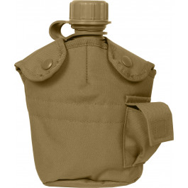 2 Quart Bladder Canteen Covers ACU or Coyote M.O.L.L.E MOLLE Canteen Covers