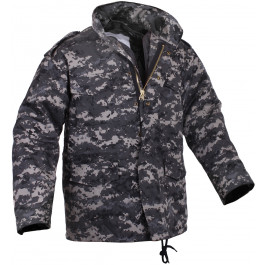 Subdued Urban Digital Camouflage Military M-65 Field Jacket bdc97c4b08f