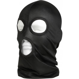 Black Tactical Lightweight Military Three Hole Face Mask 63cbca20621