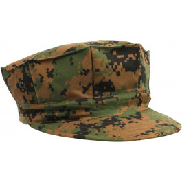 b30d55a3a58 Woodland Digital Camouflage Military Marine Corps 8 Point Utility Cap