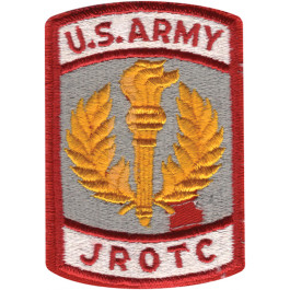 US Army JROTC Military Color Patch 96a8b6f8ade