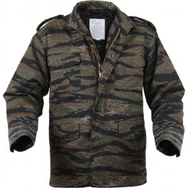 Tiger Stripe Camouflage Military M-65 Field Jacket 769683b0fe5