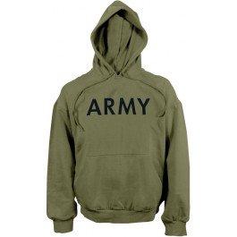 Olive Drab ARMY Physical Training Hooded Sweatshirt cfb687aa54d