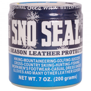 Sno-Seal Leather Waterproofer Protector Jar 7 oz
