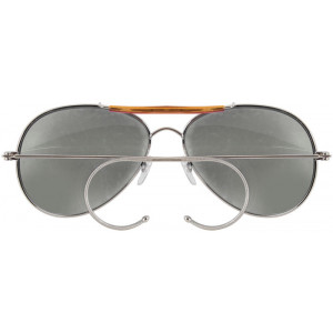 Smoke Lenses Military Air Force Aviator Sunglasses e9a1639850e