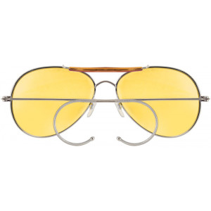 Yellow Lenses Military Air Force Aviator Sunglasses d157cebbe28