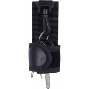 Black Web Police Silent Key Holder