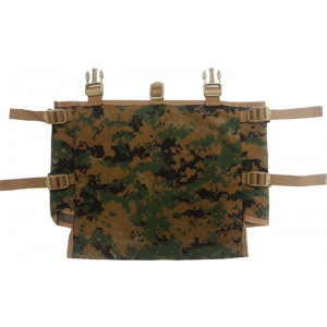 Digital Woodland Camo Gen II USMC MARPAT US Made Official Military Radio Pouch