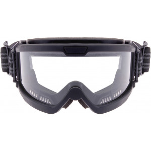 Black Over The Glasses Tactical Ballistic Goggles w/ Clear Lenses