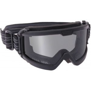 Black Over The Glasses Tactical Ballistic Goggles w/ Smoke Lenses