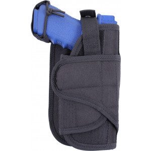 Black Tactical Vertical MOLLE Gun Holster