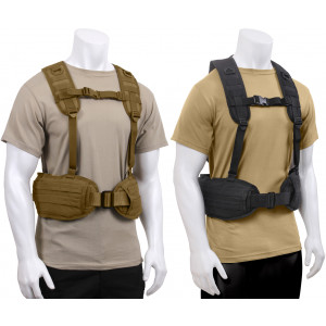 Military MOLLE Battle Belt Load Bearing Tactical Police Harness