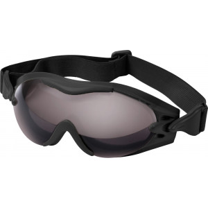 Black Tactical SWAT Tec Single Lens Enhanced Goggles