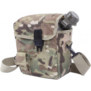 Multi Cam Military MOLLE 2 Qt. Bladder Canteen Cover
