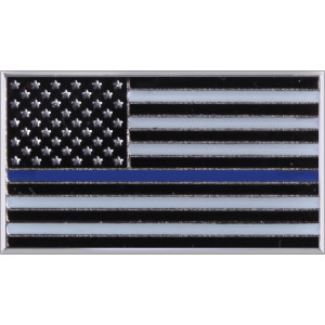 The Thin Blue Line Displays Respect For The Police & Law Enforcement Officials