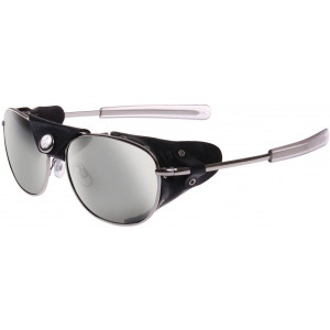 Silver & Smoke Tactical Aviator UV400 Sunglasses with Wind Guards