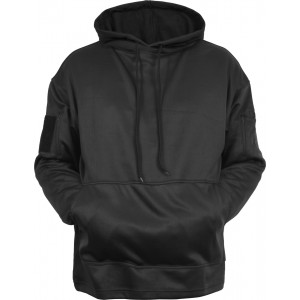 Black Concealed Carry Tactical Hooded Sweatshirt