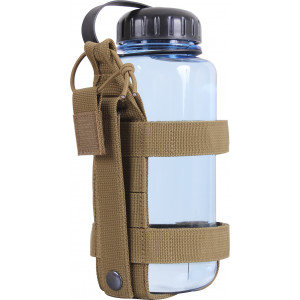 Coyote Brown Lightweight MOLLE Bottle Carrier