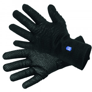 Hanz Waterproof Chillblocker Gloves with Polartec Fleece Lining - Black