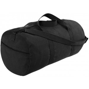 "Black Heavy Duty Military Shoulder Bag - 24"" x 12"""