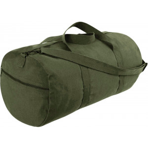 "Olive Drab Heavy Duty Military Shoulder Bag - 24"" x 12"""