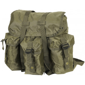 Olive Drab Military Heavyweight Nylon Mini Alice Pack