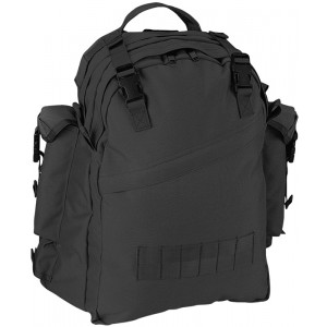 Black Military Special Forces Tactical Assault Pack Backpack