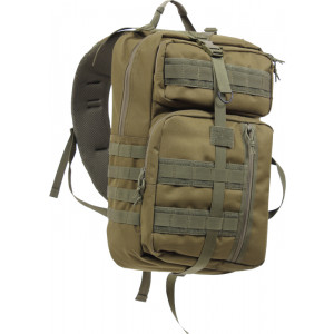 Olive Drab Military Tactisling Transport Shoulder Backpack